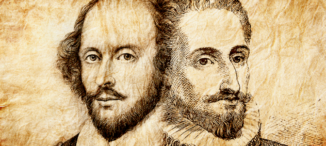 William Shakespeare era, en realidad, Miguel de Cervantes
